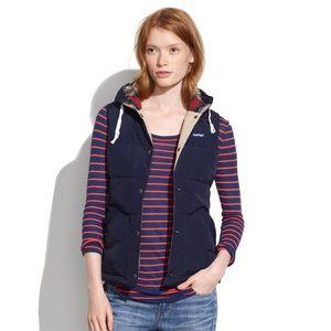 Madewell navy blue Penfield puffer vest